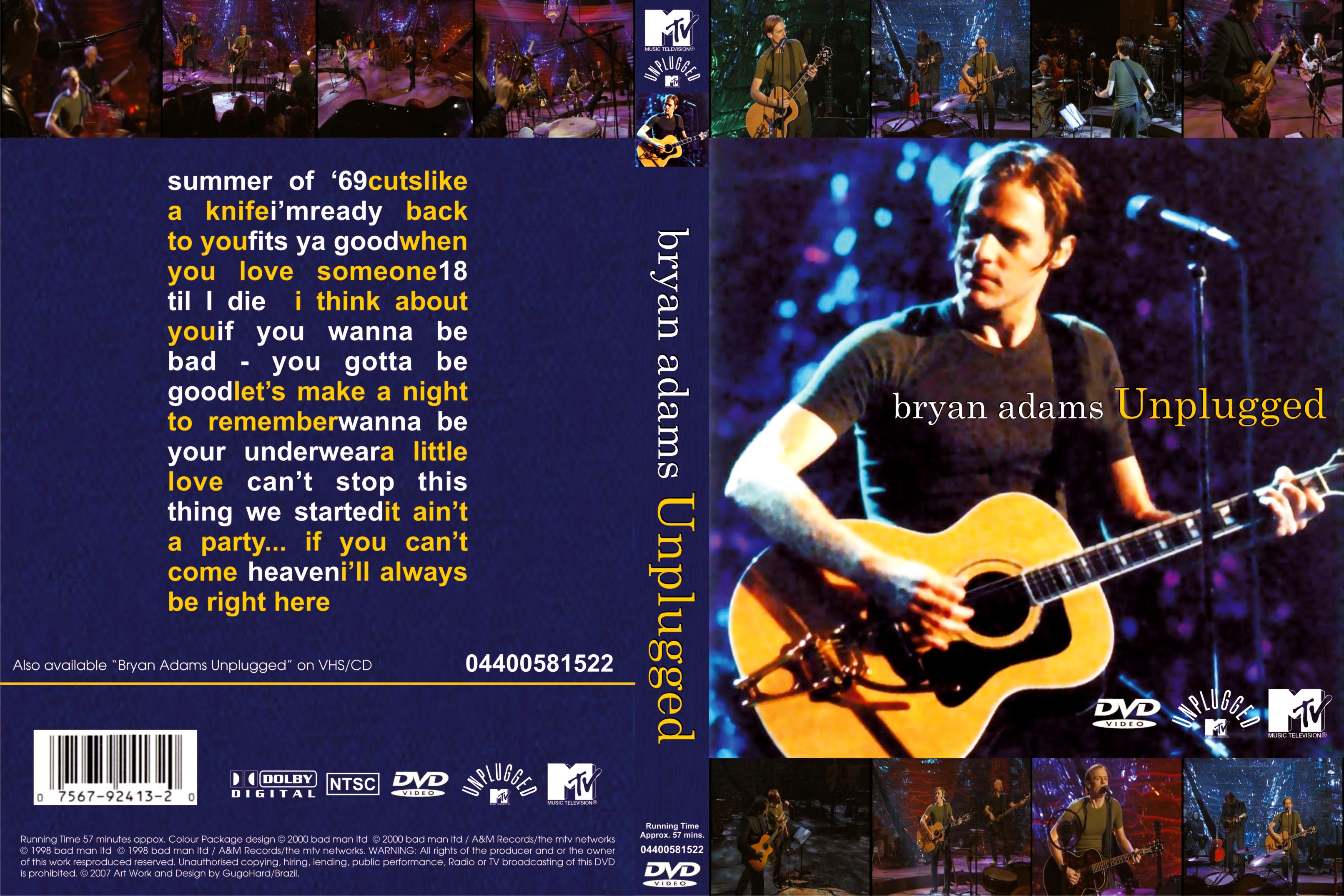 Unplugged Mtv Best Bryan Adams Unplugged Mtv