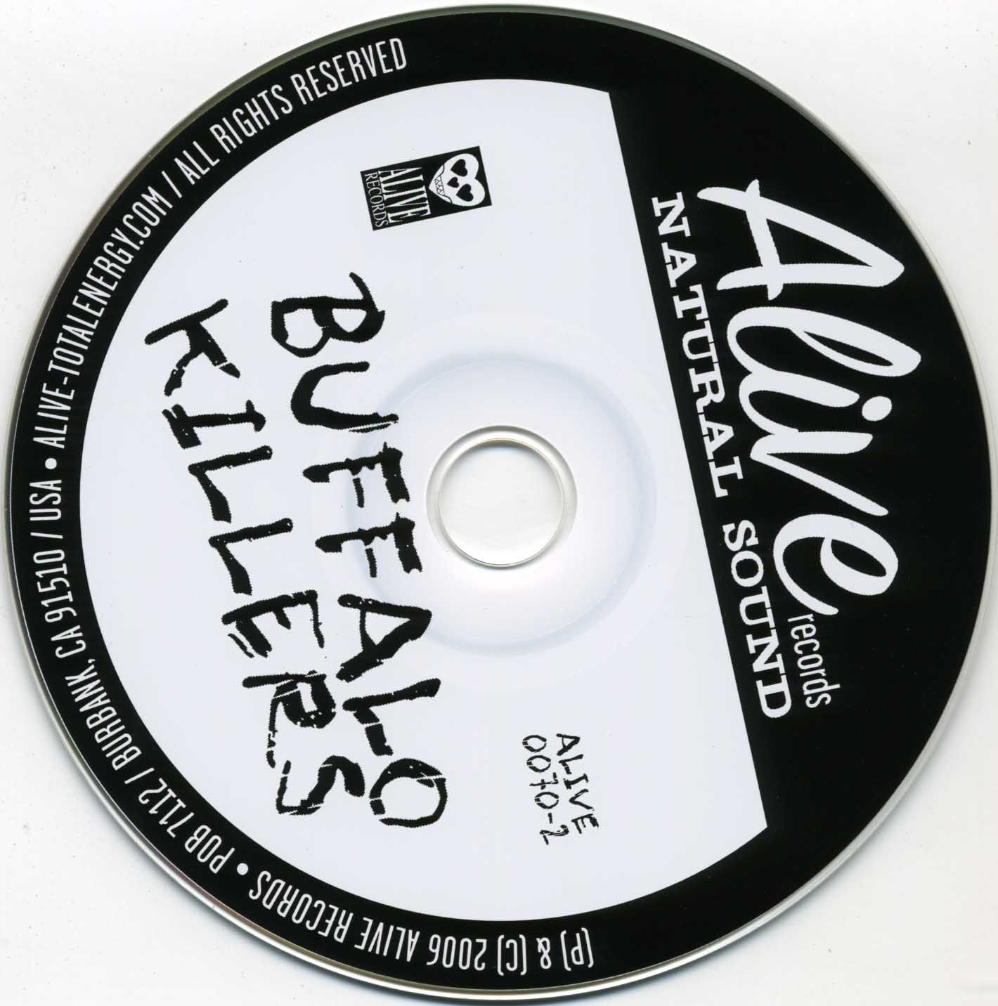 Buffalo Killers - Buffalo Killers - CD