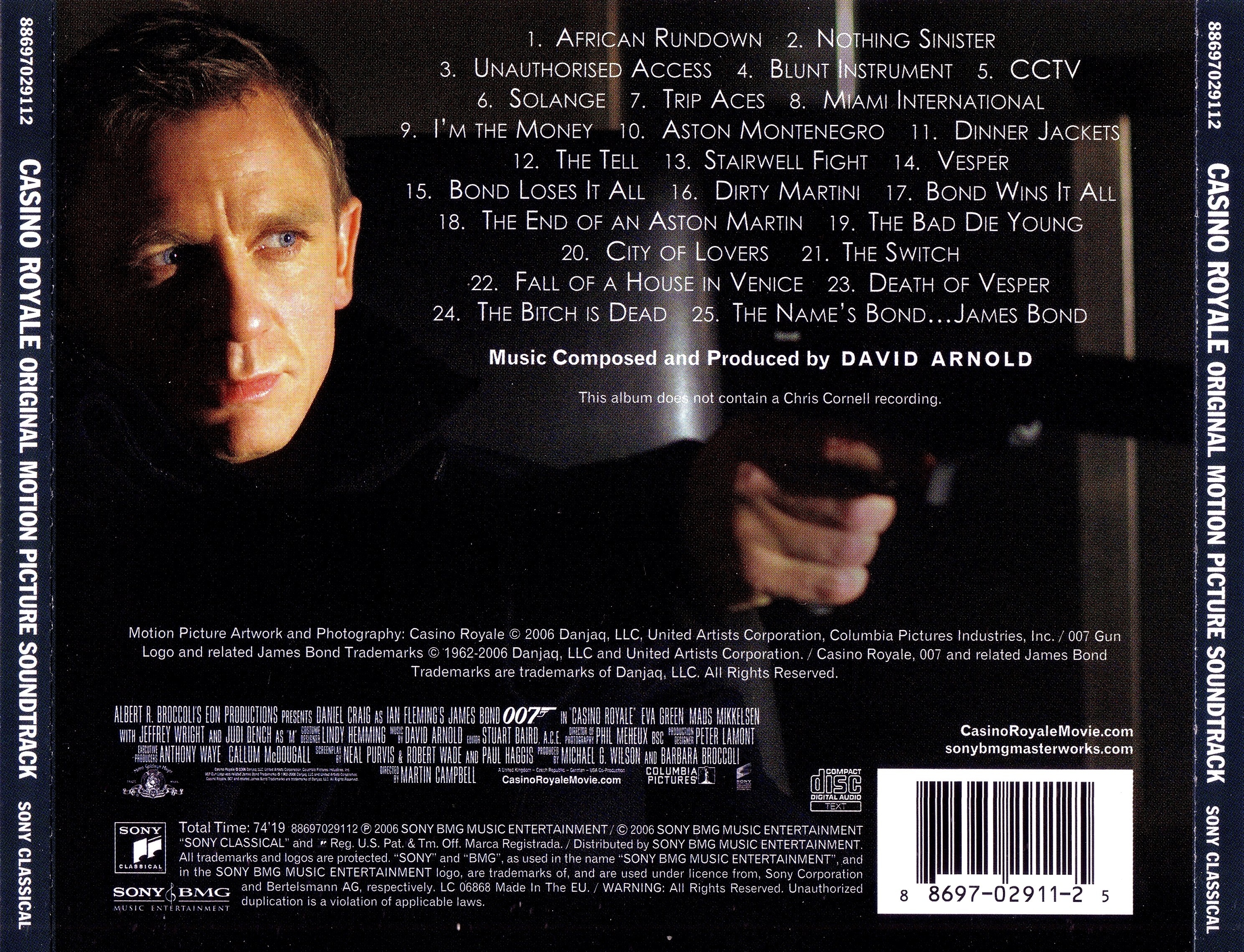 Bond casino james royale soundtrack zynga casino games