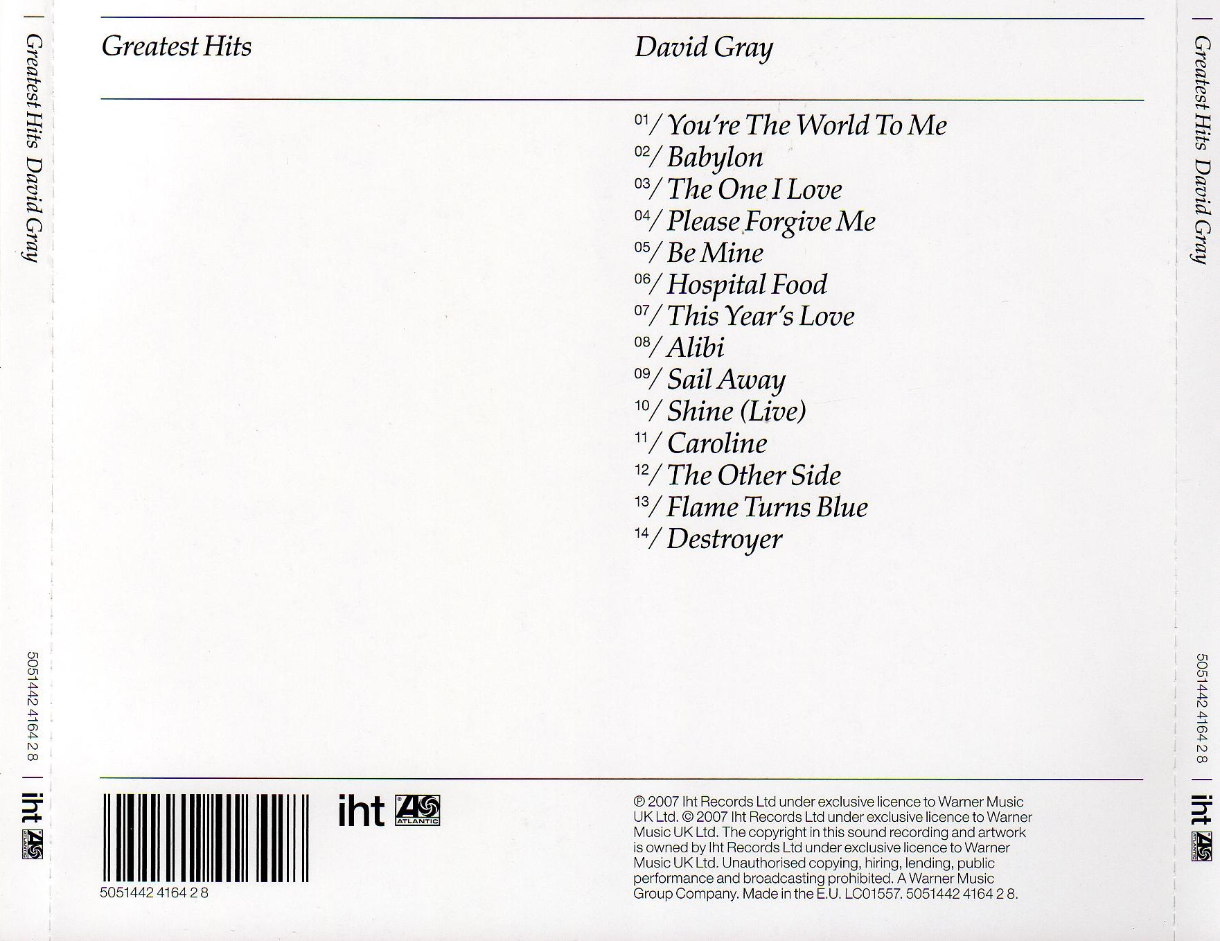 Duran Duran Greatest Cd Cover 78 X 64 Mini Blinds