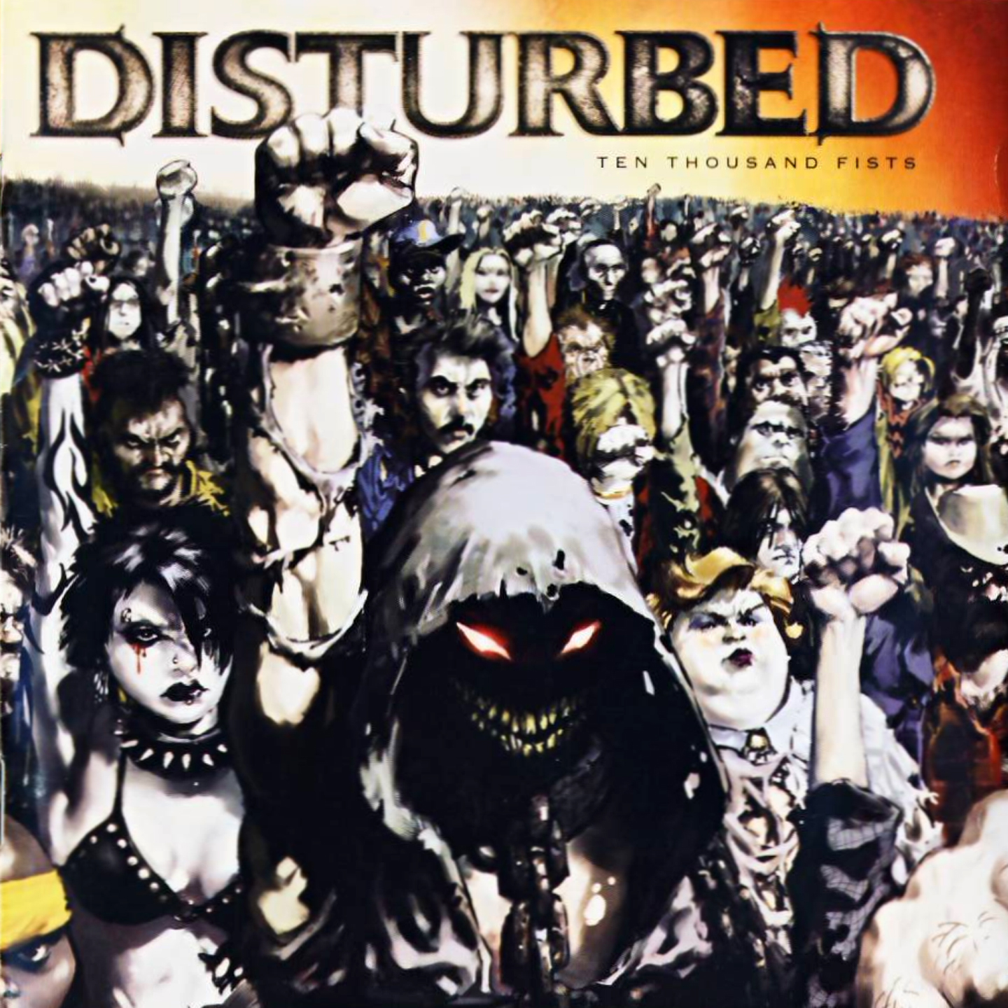 Disturbed edition fist ten thousand tour