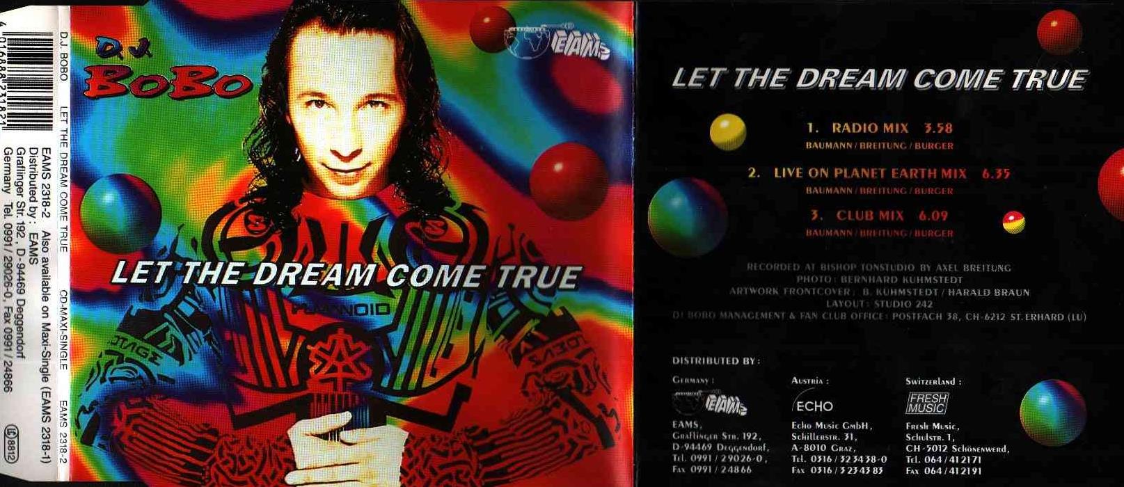 DJ BoBo* D.J. BoBo - Let The Dream Come True