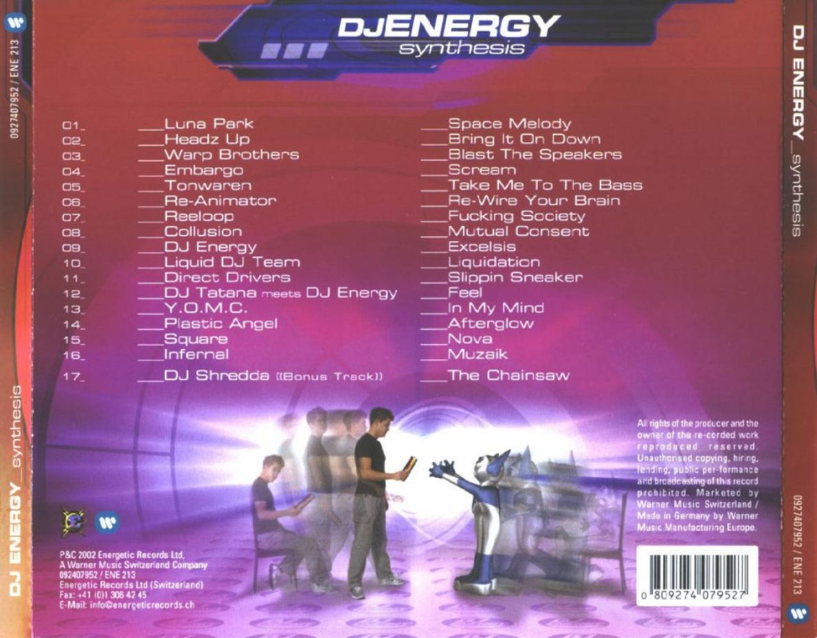DJ Energy - Synthesis - Back