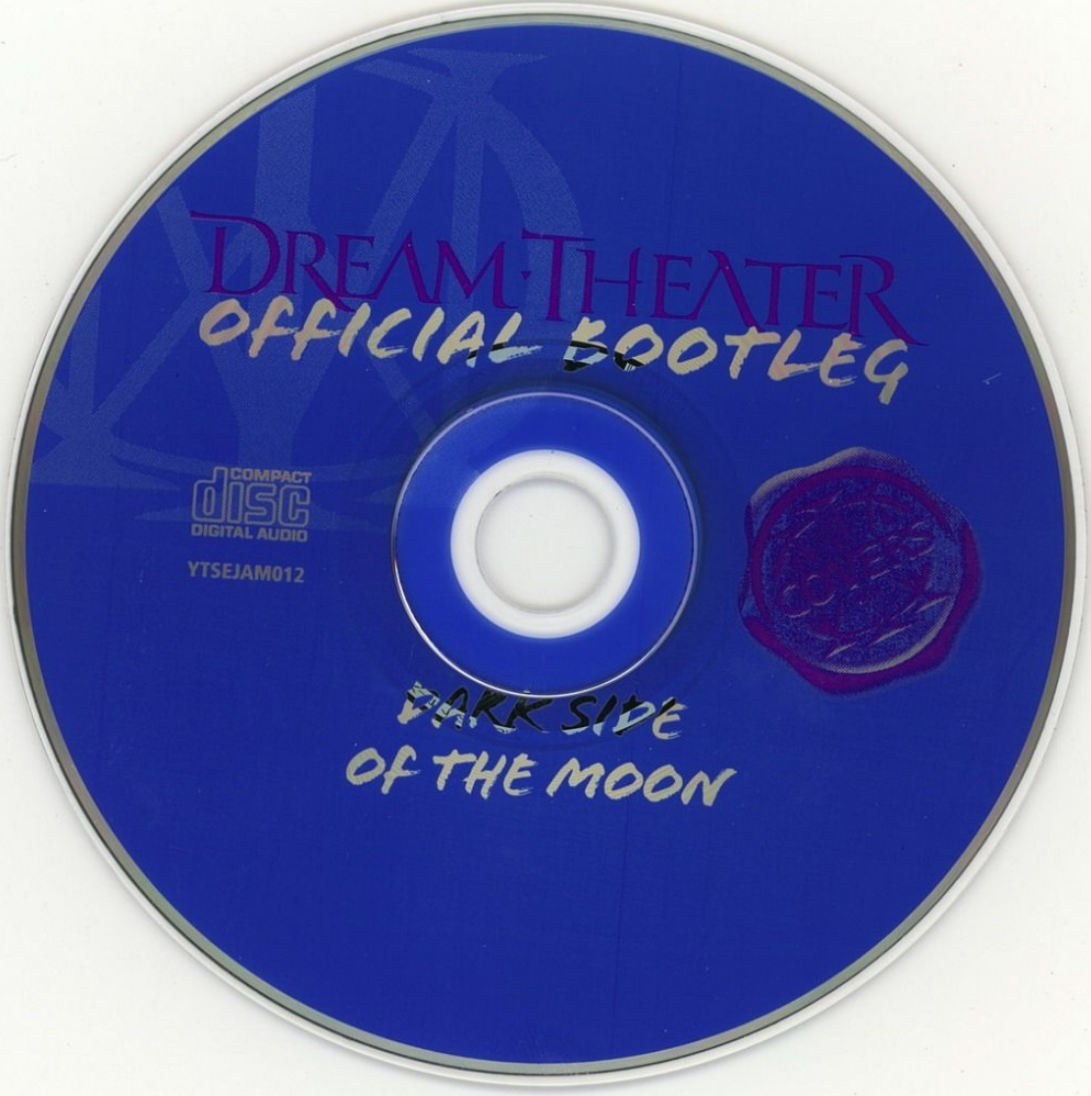 cd Dream Theater - Official Bootleg Dark Side Of The Moon - CD (2-2