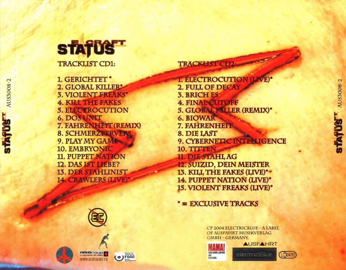 E-Craft - Status - Back