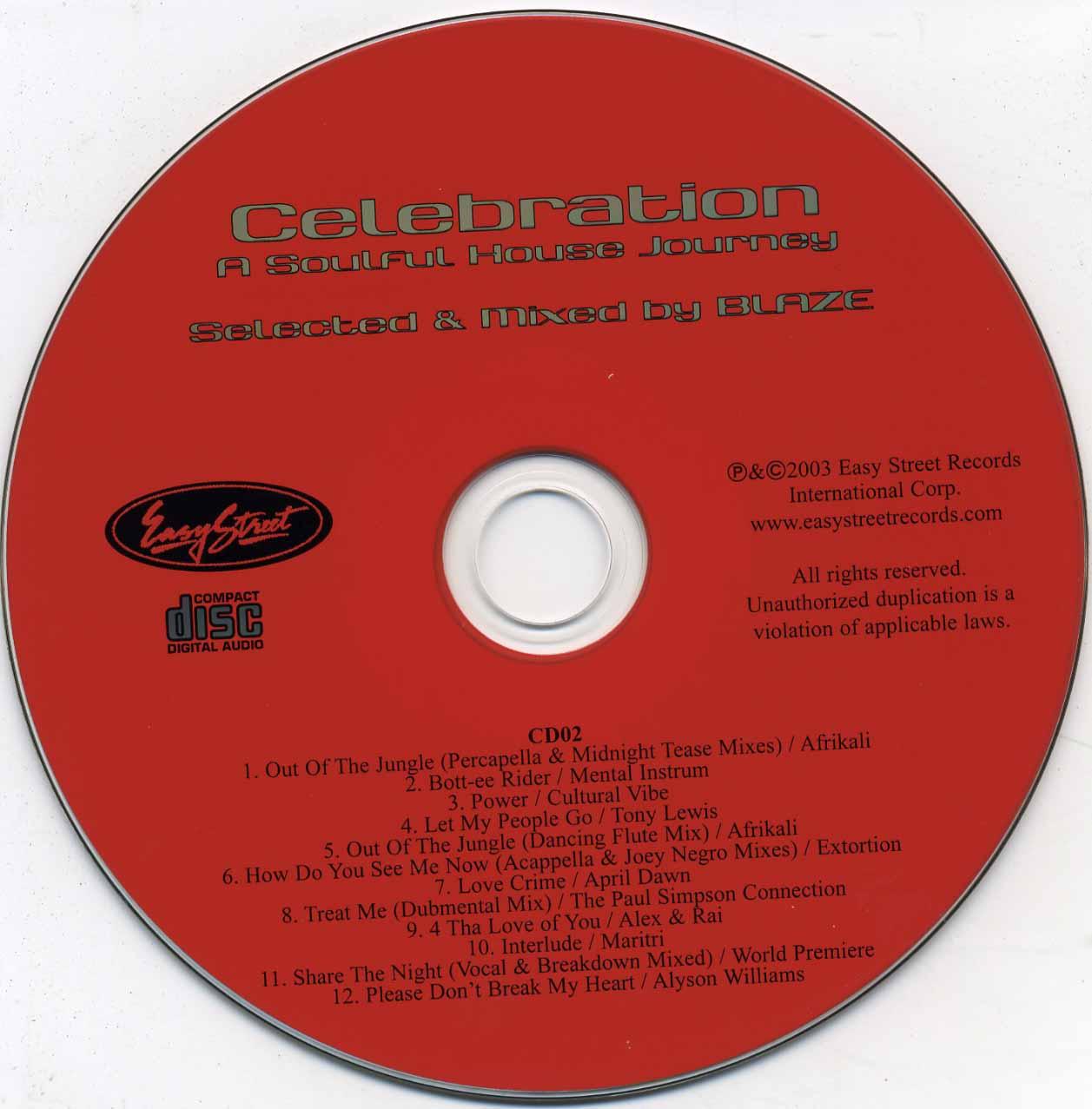 Scarica la copertina cd easy street dance classics for Classic house cd