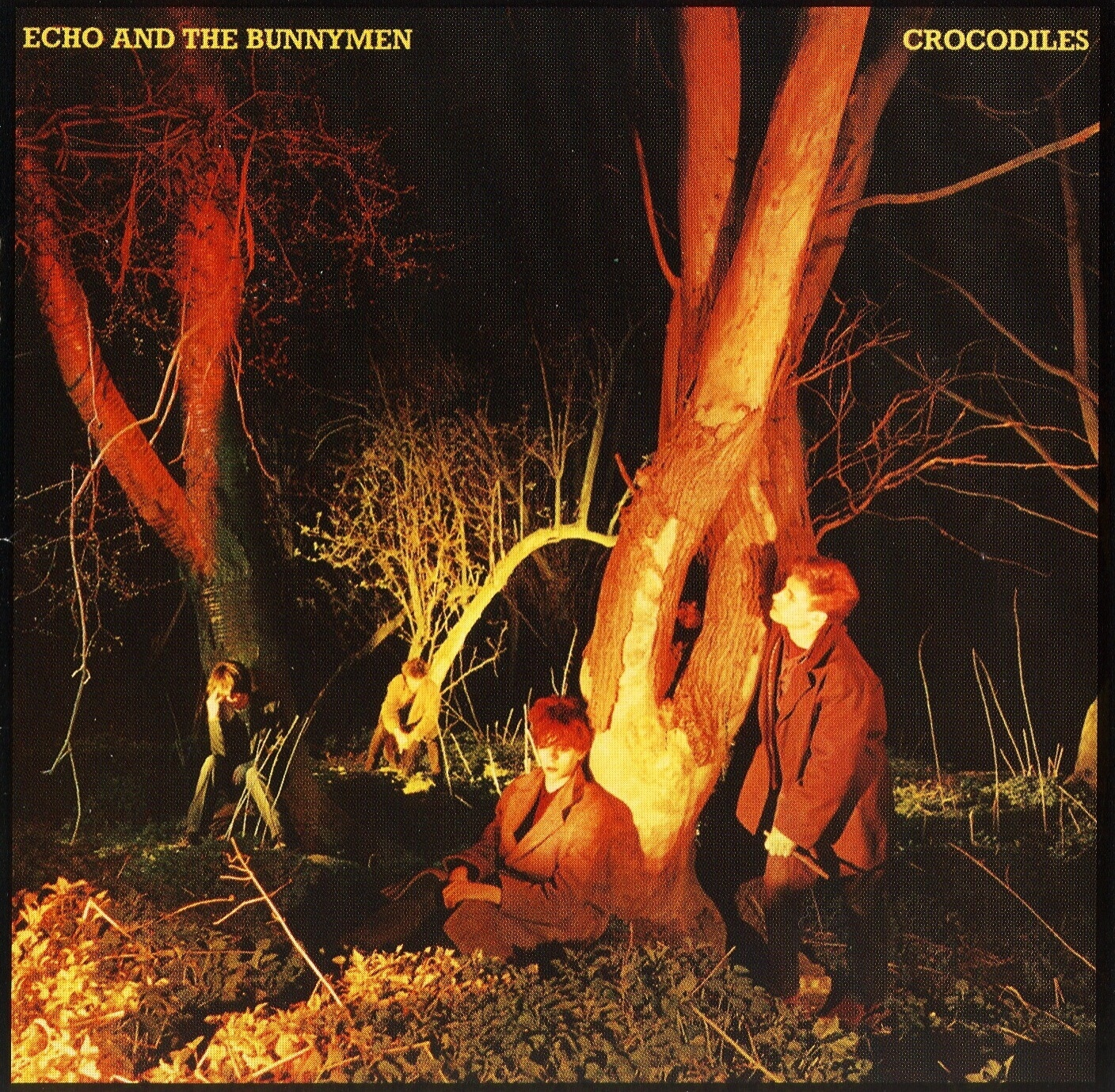 Echo and The Bunnymen - Crocodiles (USA) - Front
