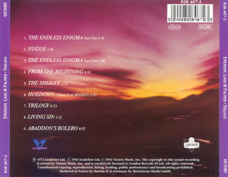 Ennio Morricone The Blue Eyed Bandit