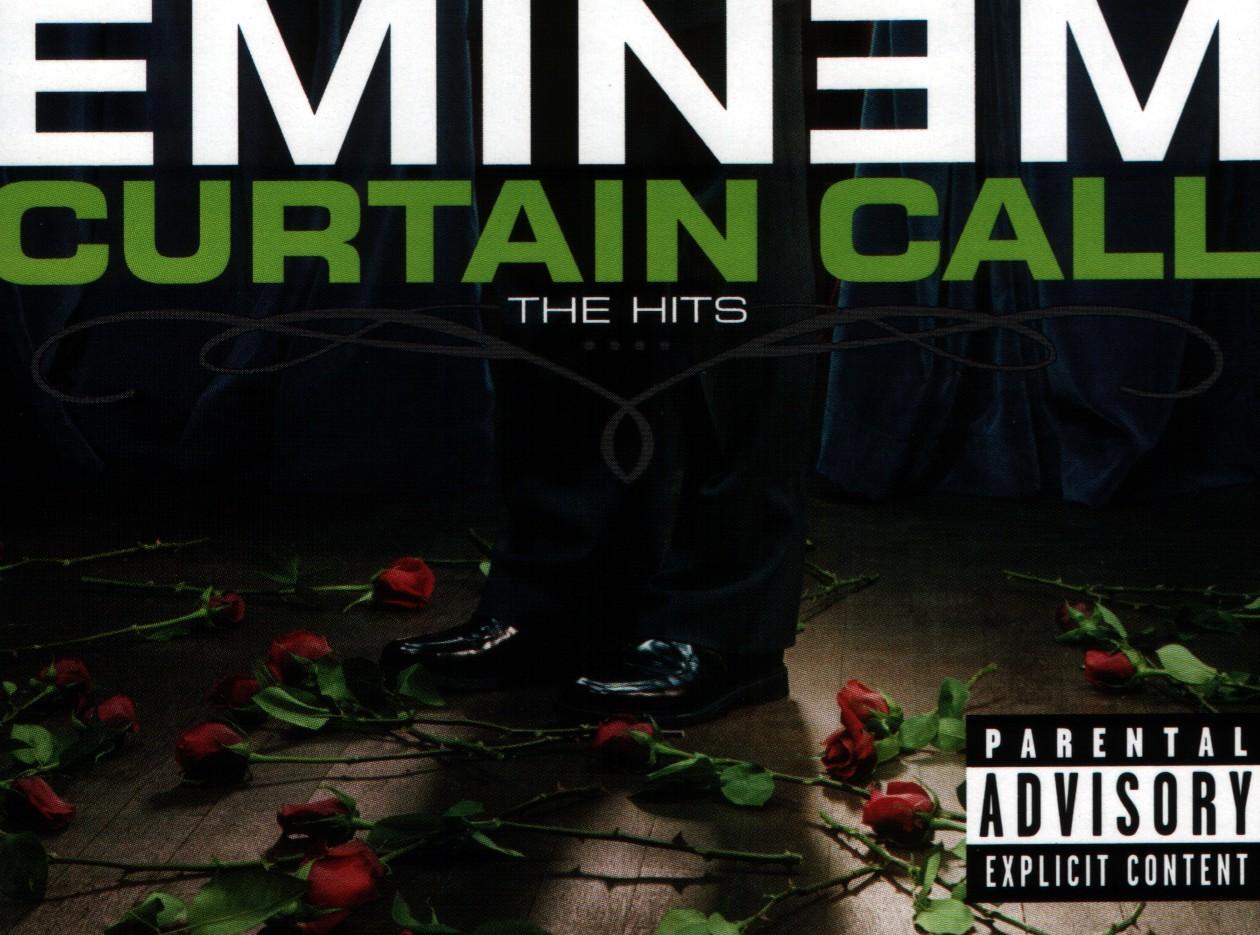 Copertina cd Eminem - Curtain Call (The Hits) - Inside, cover cd ...