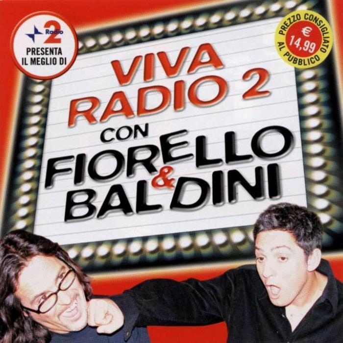 Copertina cd Fiorello e Baldini - Viva Radio 2 2003 - Front, cover ...