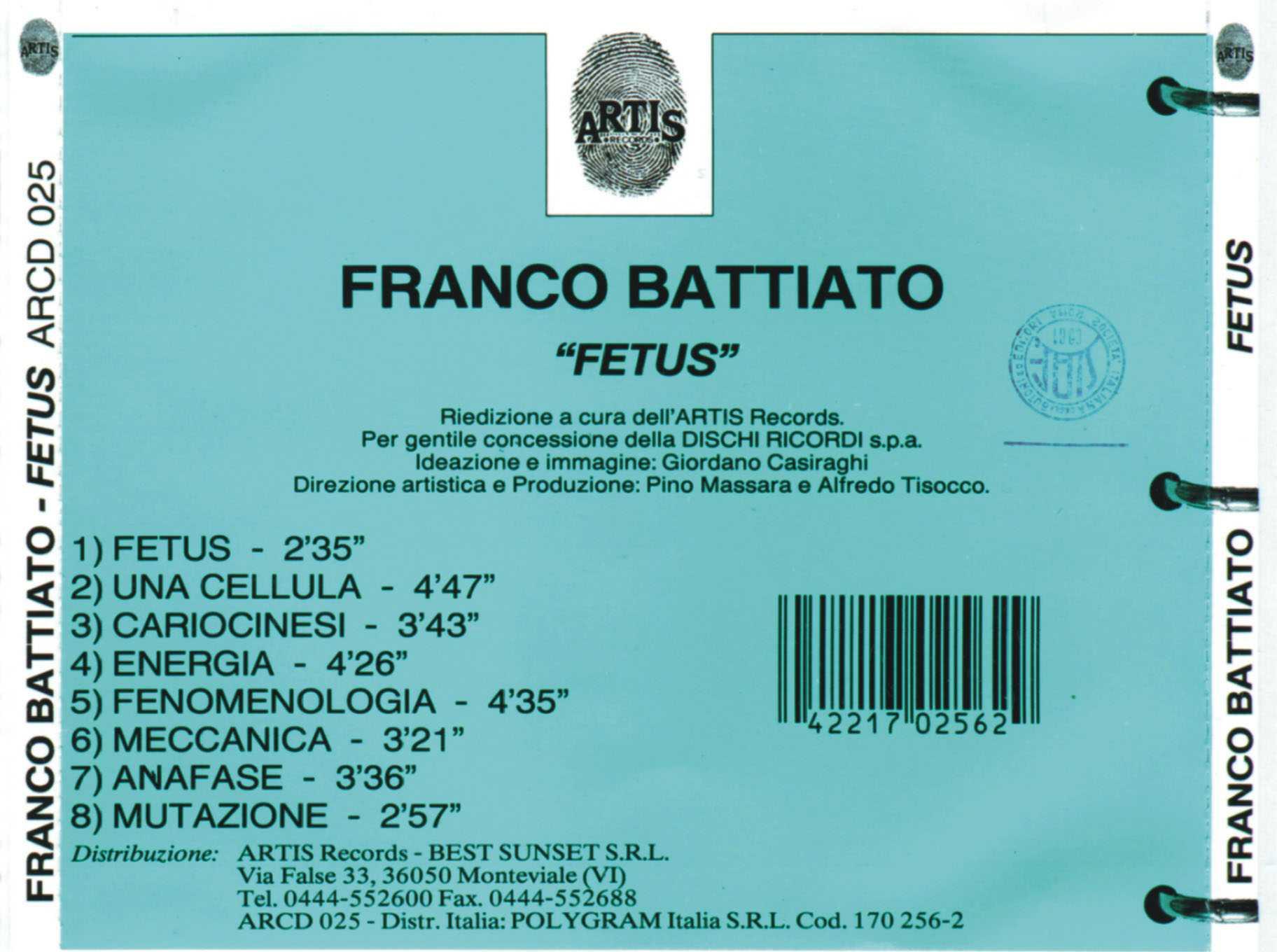 franco battiato foetus download free