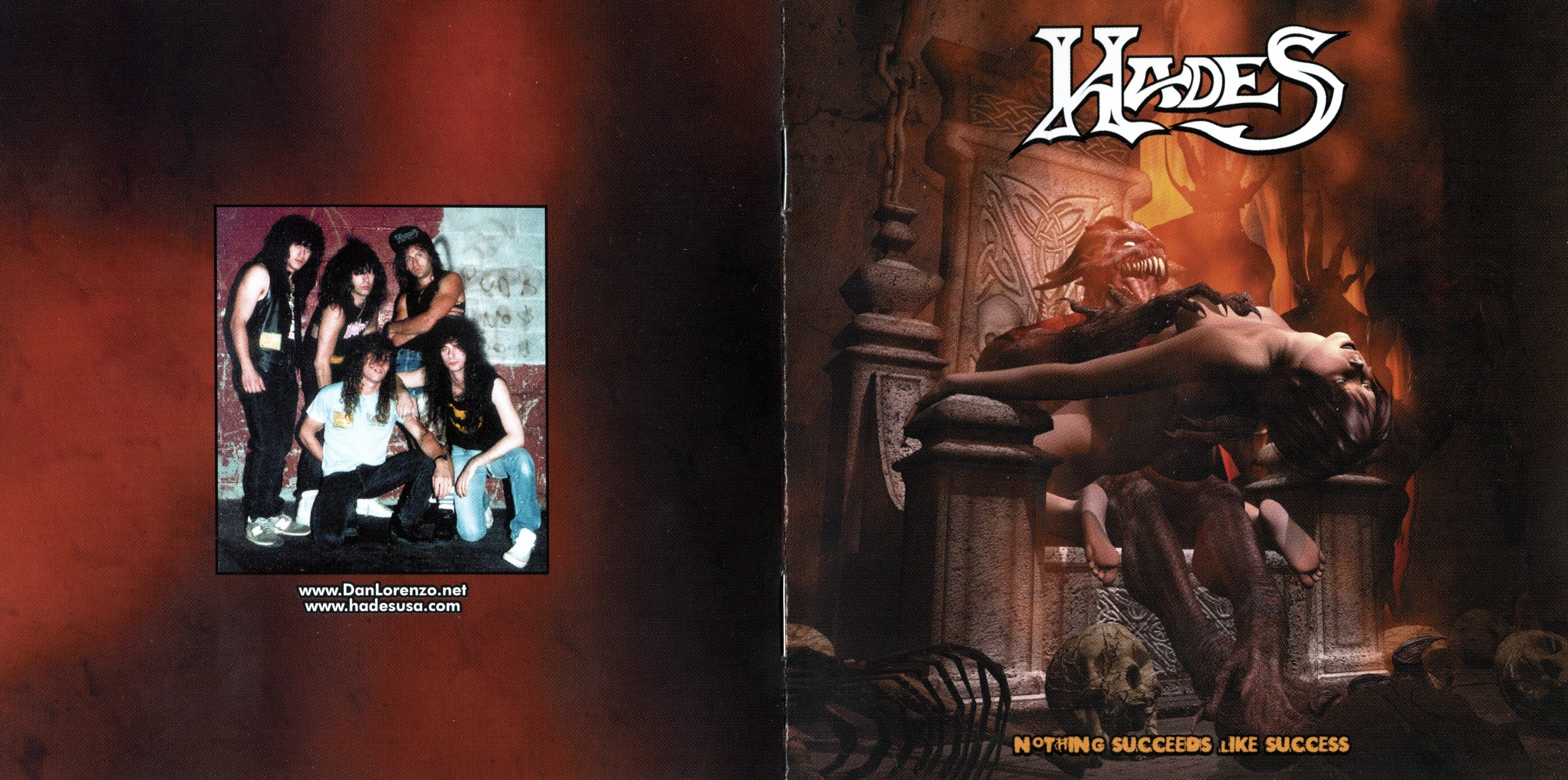 Hades - Nothing Succeeds Like Succees - Booklet (1-4)