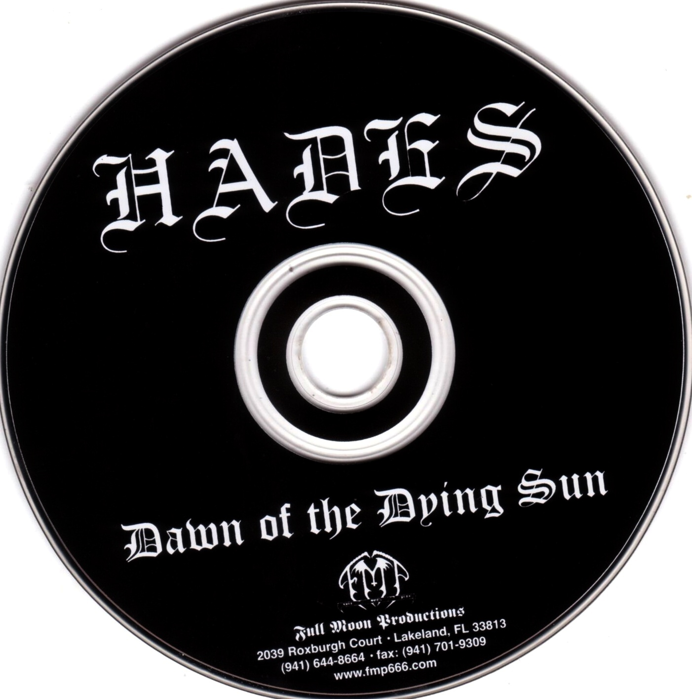 Hades - The Dawn Of The Dying Sun - CD