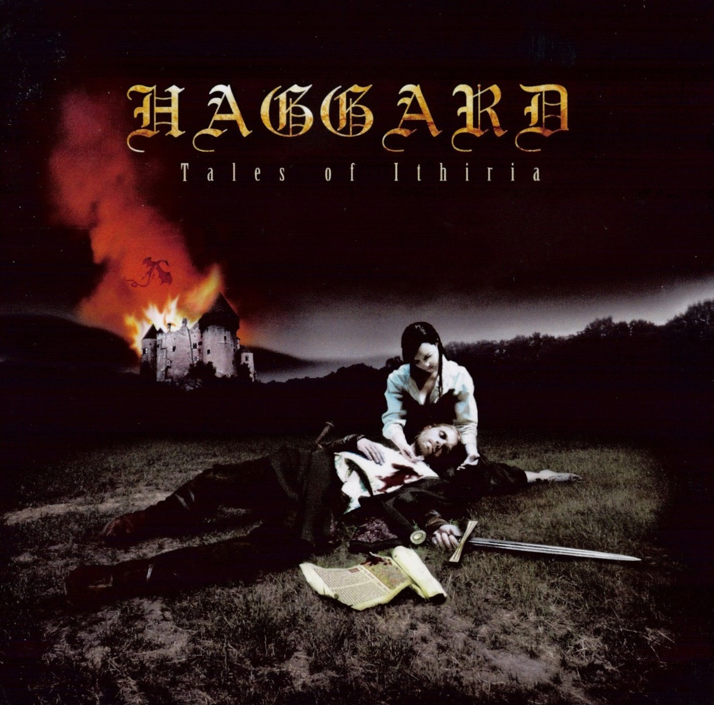 Haggard - Tales Of Ithiria - Front