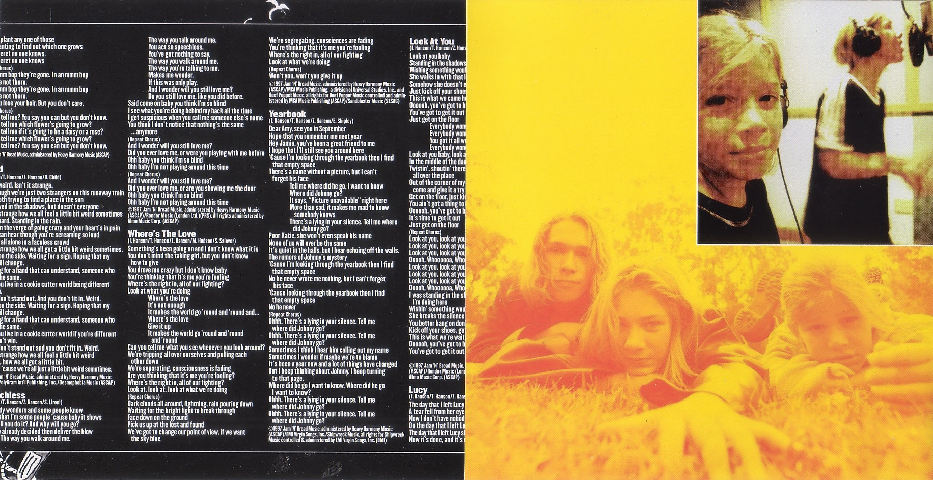 Hanson - Middle Of Nowhere - Booklet (2-4)
