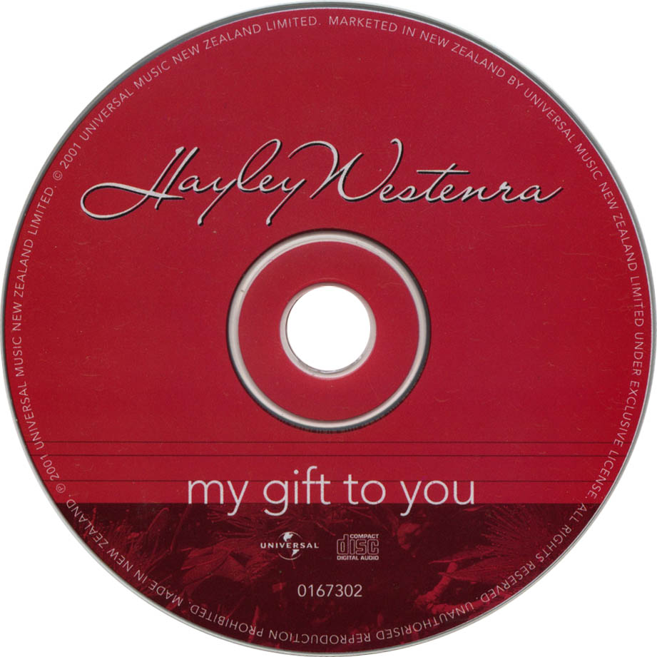 Hayley Westenra - My Gift To You - CD