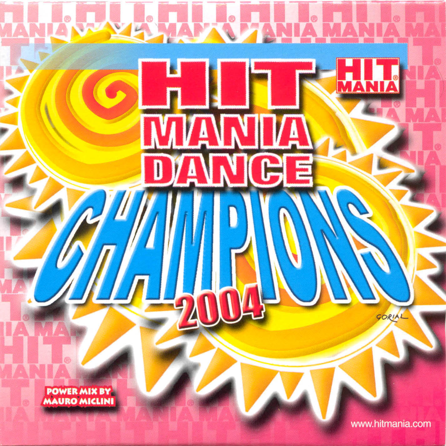 Hit Mania - Dance Champions 2004 - Front