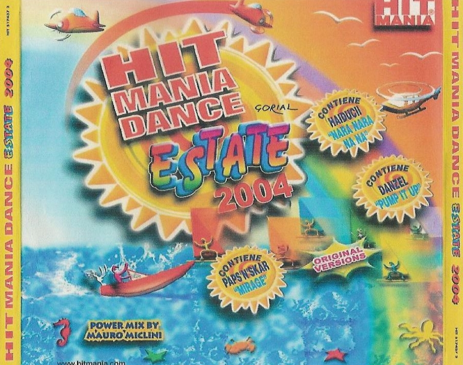 Hit Mania - Dance Estate 2004 - Inlay
