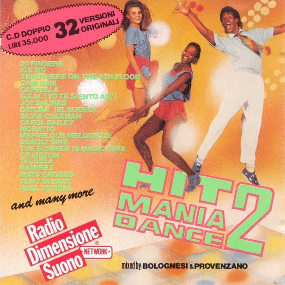 Hit Mania - Dance Vol.02 - Front