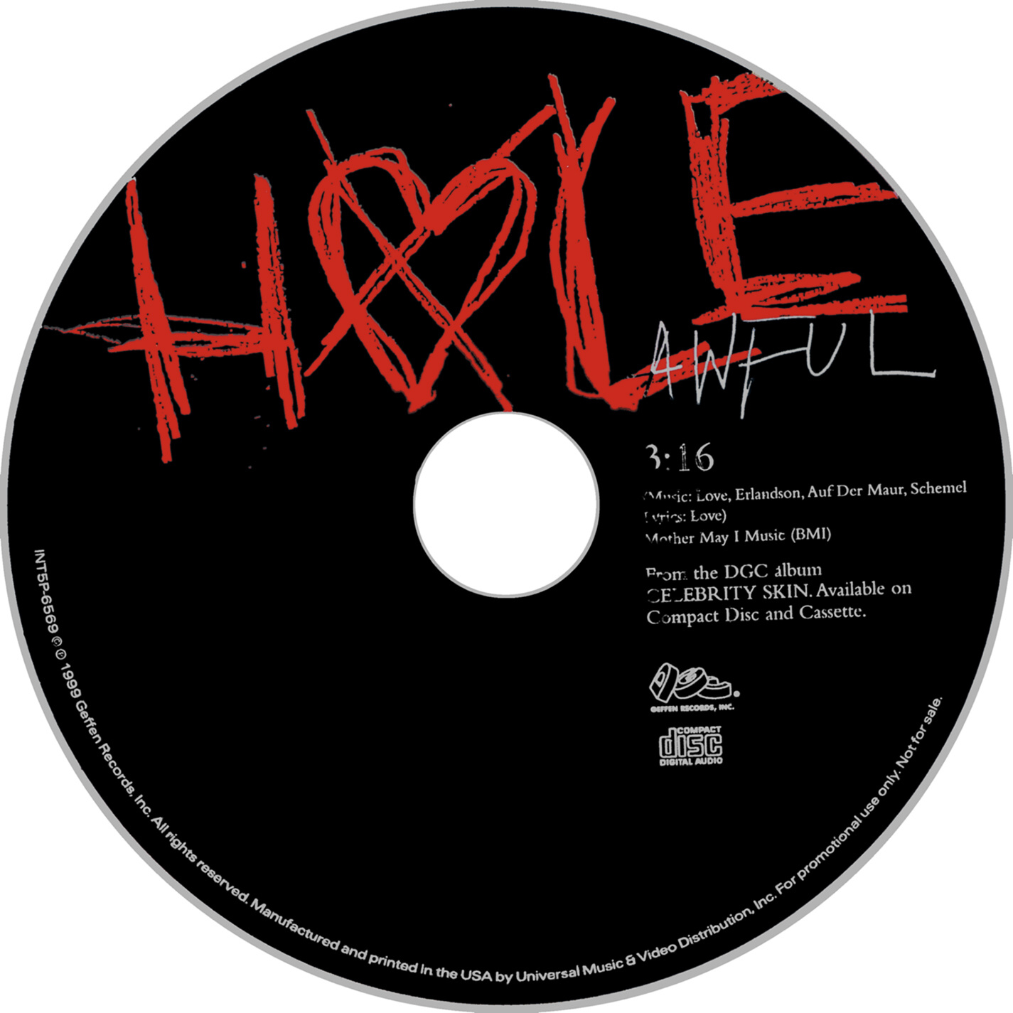 Hole - Awful - CD