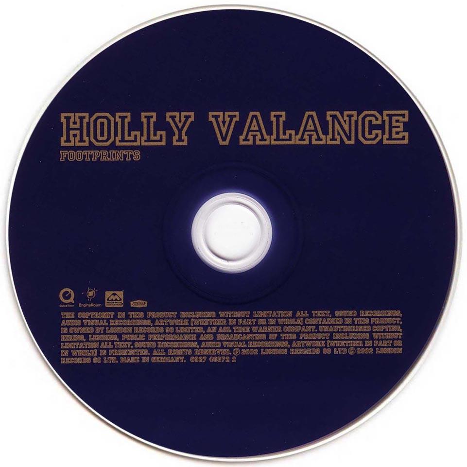 Scarica la copertina cd Holly Valance - Footprints - CD (1 ...