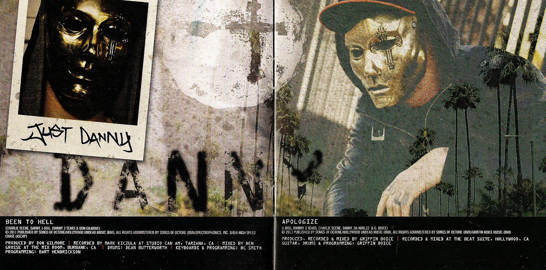 Hollywood Undead - American Tragedy (USA) - Booklet (1-7)