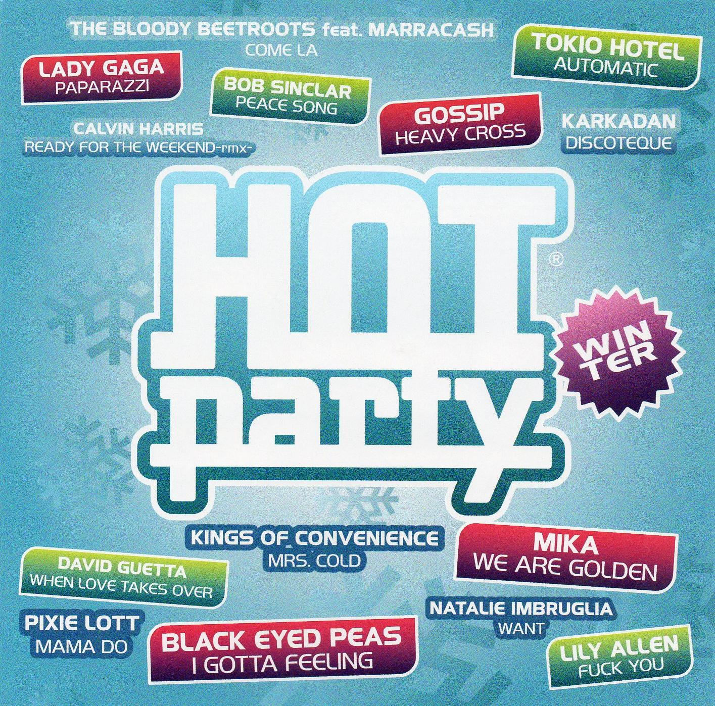 Hot party - winter 2010 - Front