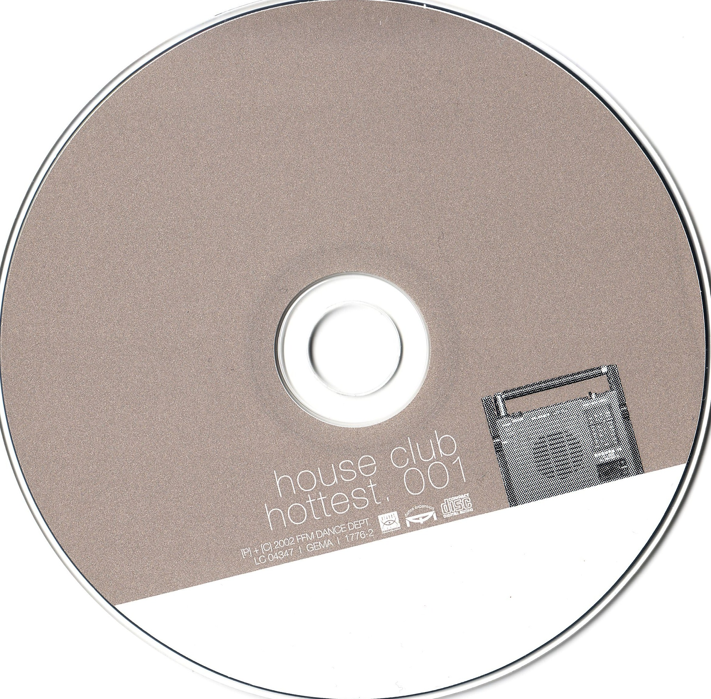 House Club Hottest Vol.01 - CD