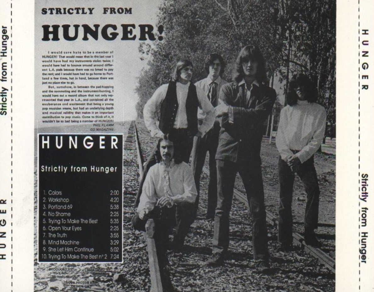 Hunger - Strictly From Hunger - Back
