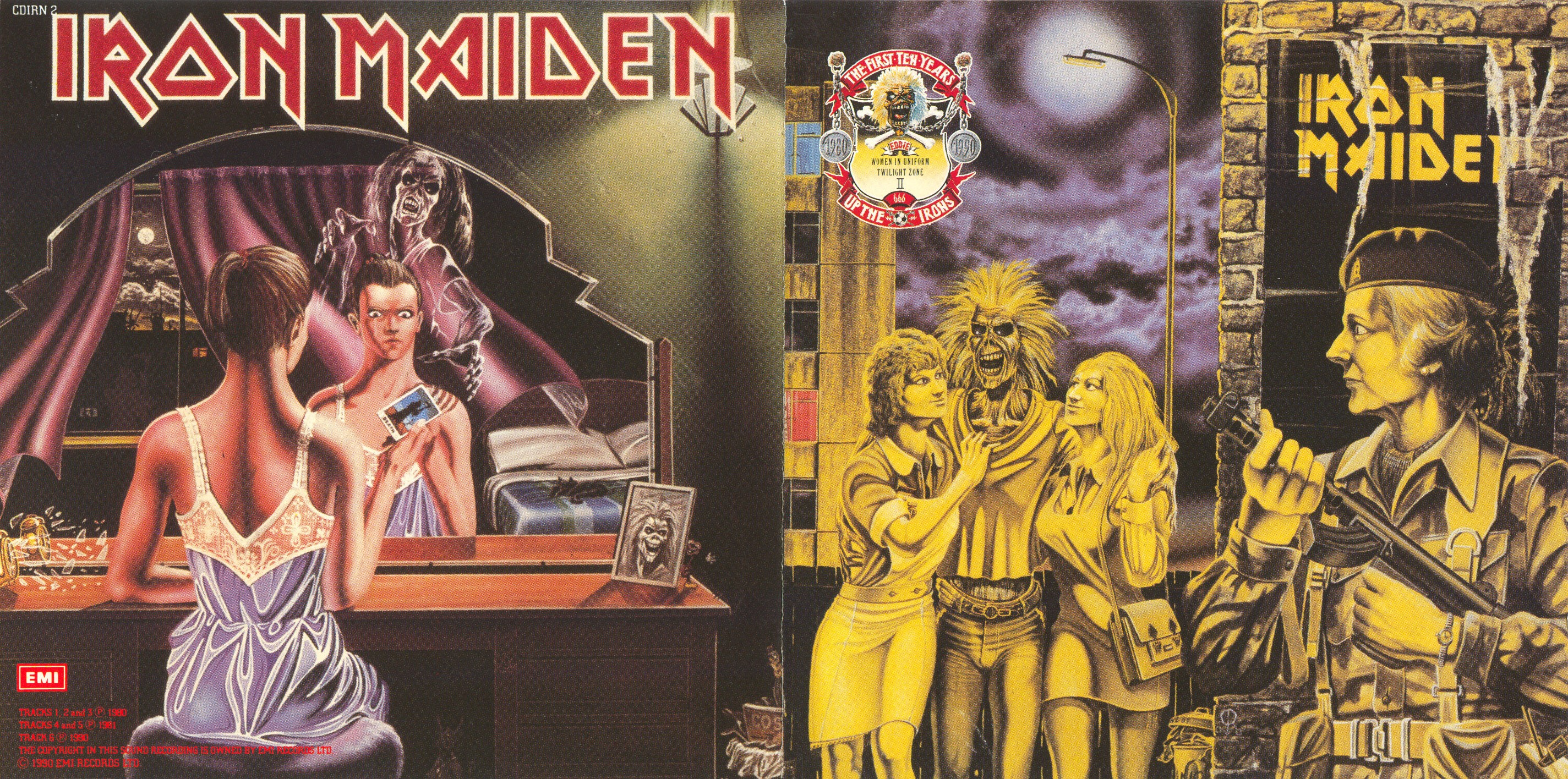 Iron Maiden - The First Ten Years - Booklet (1-2)