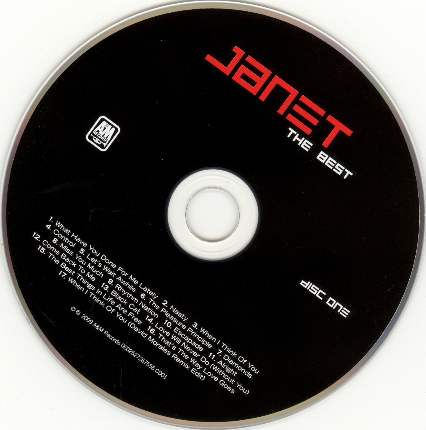Janet Jackson - The Best - CD (1-2)