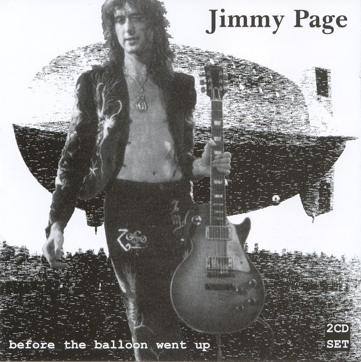 Jimmy page - before the ballon went up - front