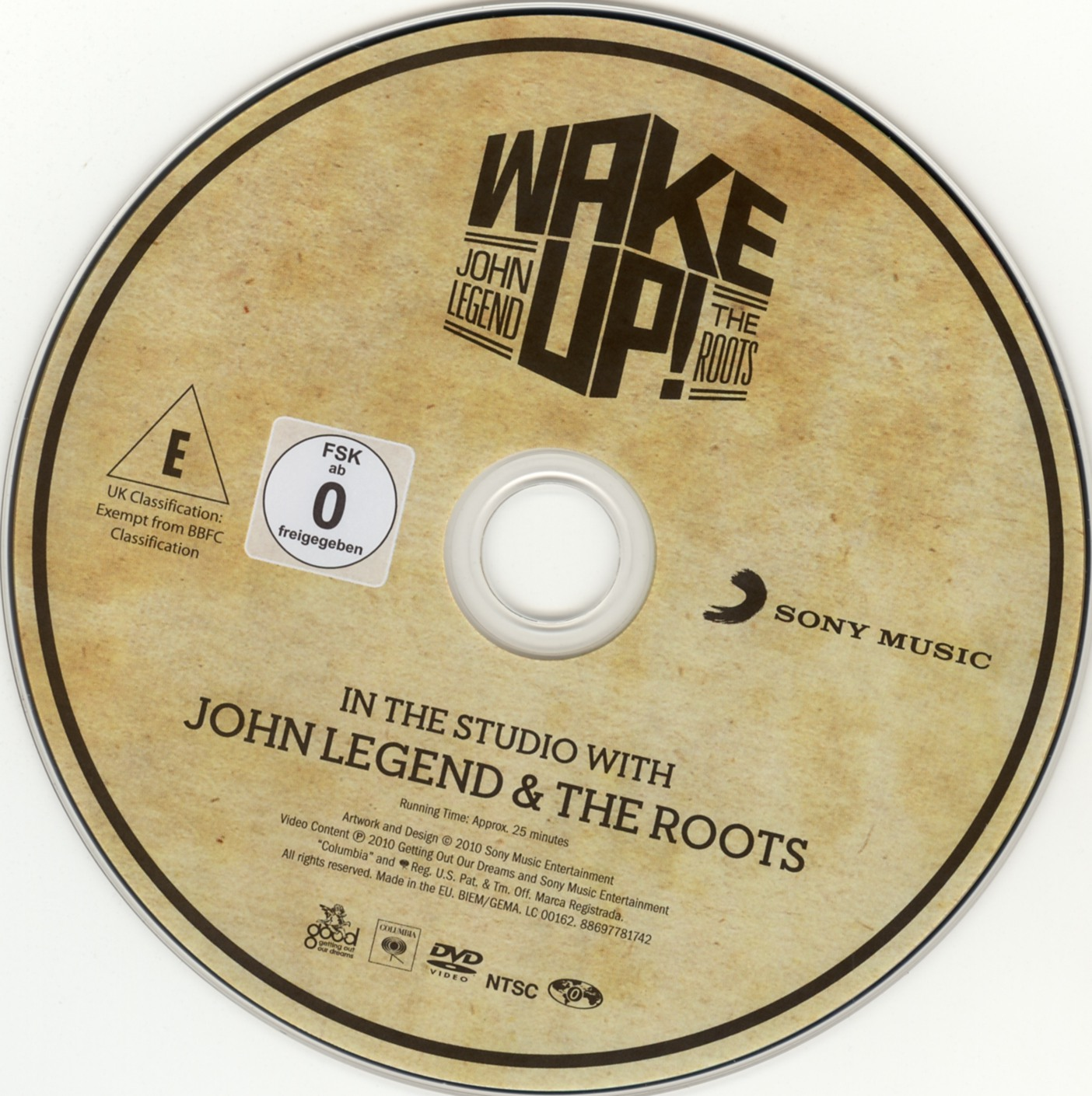 John Legend and The Roots - Wake Up - CD