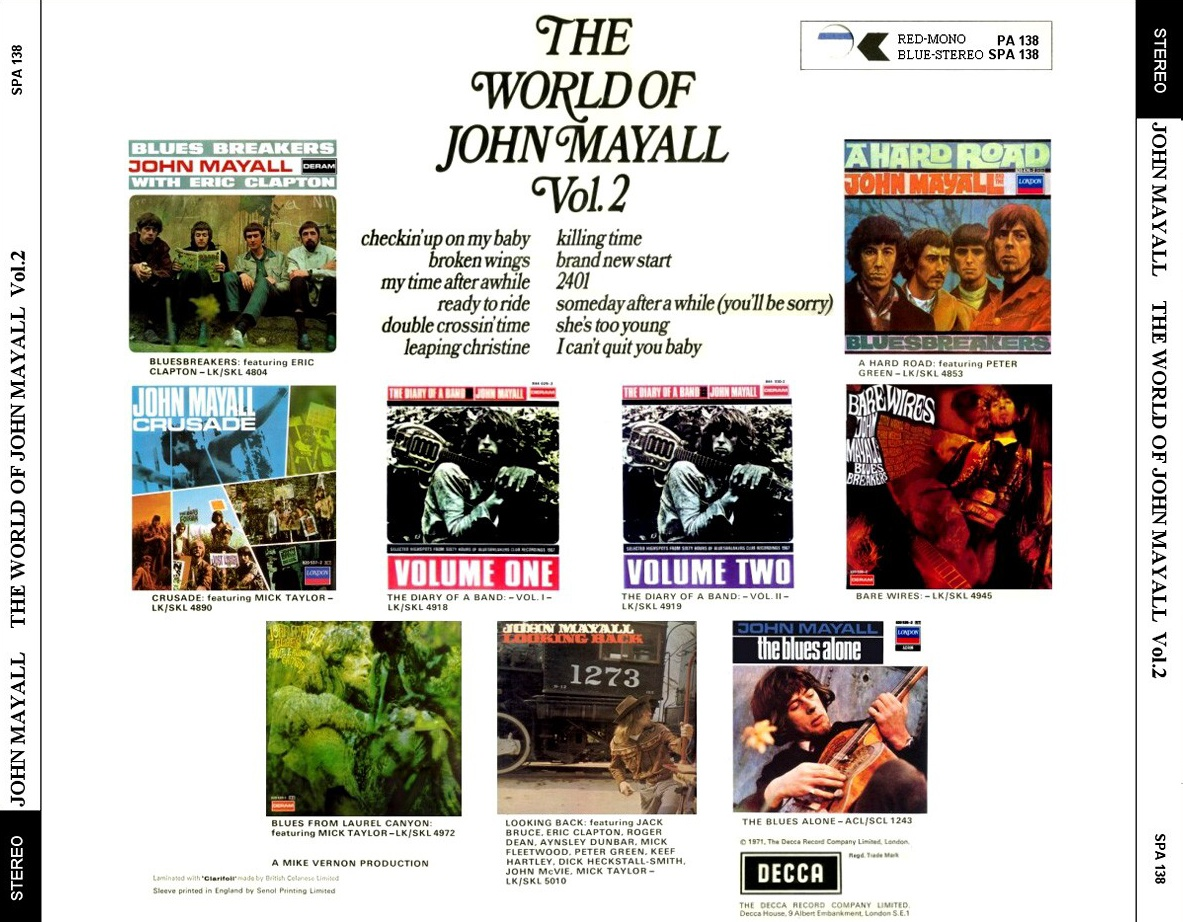 John Mayall - The World Of John Mayal Vol.02 - Back