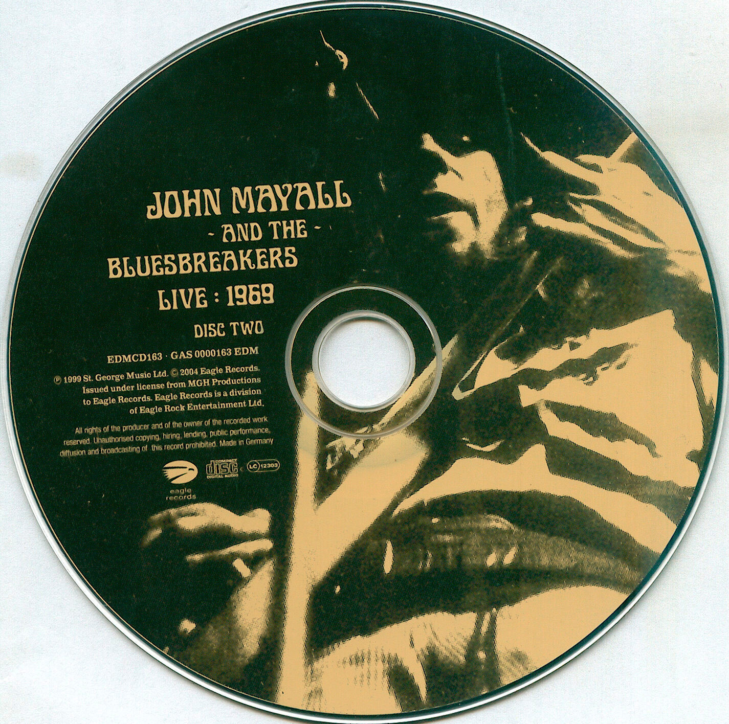 John Mayall and The Bluesbreakers - Live 1969 - CD (2-2)