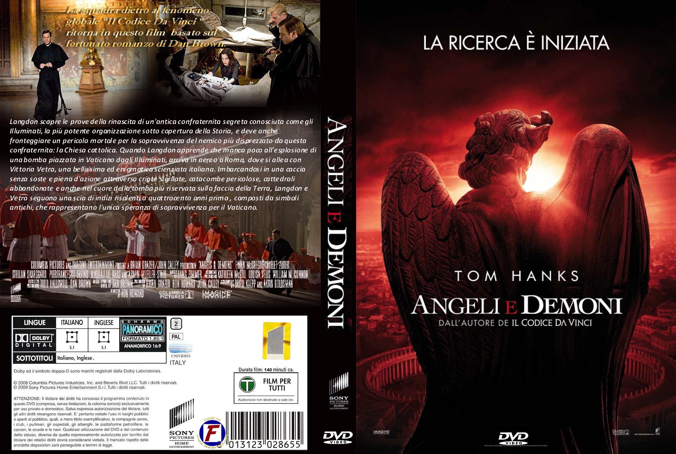autore angeli e demoni